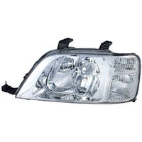 Honda CR-V Headlight 4 Door Wagon 97 98 99 00 01 Chrome Clear LHS Left CRV Lamp
