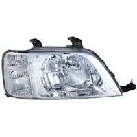 Honda CR-V 4 Door Wagon 97 98 99 00 01 Chrome/Clear RHS Right CRV Headlight Lamp