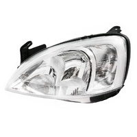 Holden Barina XC 01-05 SXI/Equipe Hatchback Chrome Lined LHS Headlight Lamp LHS