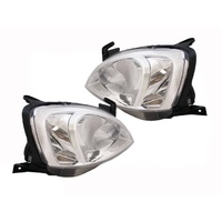 Holden XC Combo Van Left + Right Front Headlights Pair 2002-2012 - LQ Sticker