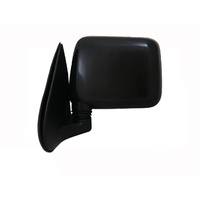 Holden Rodeo Ute 97 98 99 00 01 02 03 Black Manual LH Side Door Mirror Wing