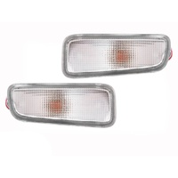 Holden Rodeo 98-03 Clear Front Bumper Bar Indicators Lights LH + RH Pair