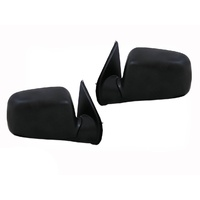 Holden RA Rodeo Ute 03-08 Black Manual Side Door Mirrors
