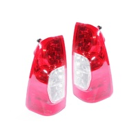 Holden RA Rodeo 06-08 LT Ute Non-Tinted Red & Clear LH+RH Set Tail Light Lamps