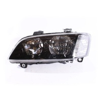 Holden VE Commodore Omega SV6 SS Berlina Black LH Headlight Halogn Non Projector