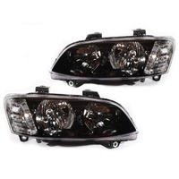 Holden VE Commodore Omega SV6 SS Berlina Black Headlights Series 2 10 11 12 13