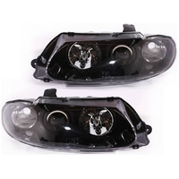 Holden VT Commodore Black Altezza Clear Projector Headlights HSV GTS Calais SS