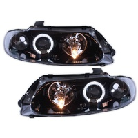 Holden VT Commodore ANGEL EYE Black Altezza Headlights HSV GTS Calais Berlina SS