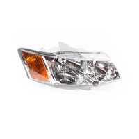 Holden Commodore VY Ser2 03-05 Chrome & Amber Front RHS Right Headlight Lamp