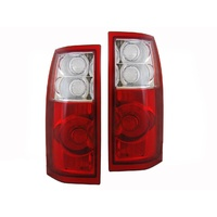 Holden VT VX VU VY Commodore Clear VZ Style Ute & Station Wagon Tail Lights Set