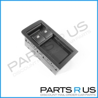 Holden Commodore VY VZ 02-06 Ute Power Window Master Switch 2 Button - Black