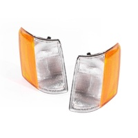 Jeep Grand Cherokee ZG 96-99 Clear Amber LH+RH Set Corner Indicator Lights ADR