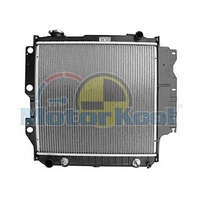 Jeep Wrangler TJ Radiator 96-07 4.0L Petrol -Bracket Right Side 32mm H'DutyCore