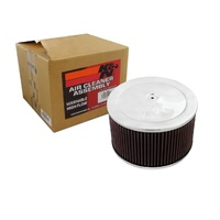 "Universal Air Cleaner Assembly K&N 9"" Filter 60-1365"