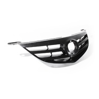 Mazda 3 Grill 04-06 BK SP23 Series1 Sedan Black Plastic Front Center Grille