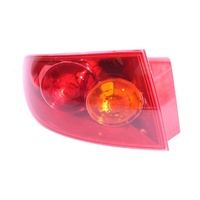 Mazda 3 BK 4 Door Sedan 04 05 06 Red & Amber LHS Left Tail Light Lamp