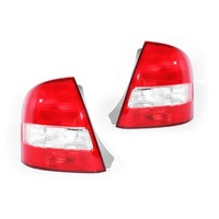 Mazda 323 Protege 98-02 BJ-1 & BJ-2 Ser1 Sedan LH+RH Set Tail Light Lamps Depo