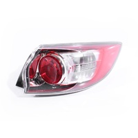 Mazda 3 BL 09-11 5Door Hatch Genuine Red & Clear RHS Right Tail Light Lamp