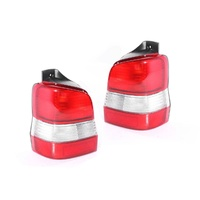 Mazda 121 Metro DW 96-00 Ser1 5Door Genuine Red Clear LH+RH Set Tail Light Lamps