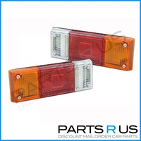 Ford Courier Mazda Bravo Tray Back Ute Tail Lights Pair - SEE DESCRIPTION
