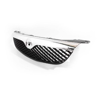 Mazda 626 GF Ser1 97-99 Sedan & Hatch Chrome & Black Front Center Grille / Grill
