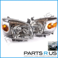 Mazda BT-50 06 07 08 Headlights Pair LH+RH NEW ADR QUALITY BT50 Left Right Ute