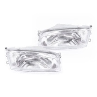 Mitsubishi Lancer CE1 96 97 98 Sedan Clear LHS+RHS Pair Of Headlight Lamps TYC