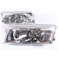 Mitsubishi Lancer Evo 5,6 Clear OE Headlights Pair CP9A Evolution V VI 6.5 TME