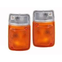 Nissan Patrol GQ 94 95 96 97 Indicator Corner Light Lamp Pair Set Series 2 LH RH
