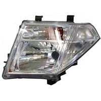 Nissan Navara Headlight 08-14 D40 Dual Cab Ute LH Left Thai Built 09 10 11 12