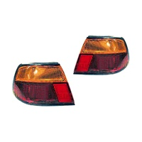 Nissan Pulsar N15 95-98 5Door Hatch Amber & Red LH+RH Set Tail Light Lamps Depo
