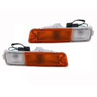 Mitsubishi Triton MK 96-06 Front Bar Indicator Lights / Bumper Parker Lamp Pair