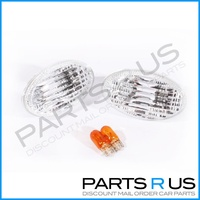 Subaru Impreza WRX, Liberty, Forester 97-05 Clear White Side Guard Flashers STI