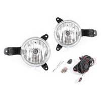 Mitsubishi Triton 06-09 ML Ute Front Bar Fog Spot Light Lamp Kit Set 07 08 New