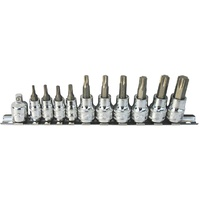 "SP Tools 11pc 1/4"" & 3/8"" Dr Torx Socket Set"