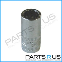 "SP Tools 1/4"" Dr 8mm x 12 Point Metric Socket"