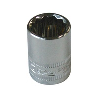 "SP Tools 3/8"" Dr 18mm x 12 Point Metric Socket"