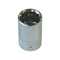 "SP Tools 1/2"" Dr 15mm x 12 Point Metric Socket"