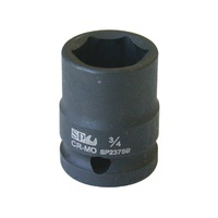 "SP Tools 1-1/16"" x 1/2"" Dr 6pt SAE impact socket"