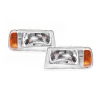 Suzuki Vitara Headlights 88-98 2&4Door TA01 Wagon Clear LH+RH Left Right Lamps
