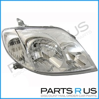 Toyota Corolla RH Headlight ZZE122 Sed & Wag 01-07 Hatch 01-04 Right Head Lamp