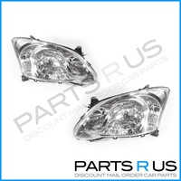 Toyota Corolla 04-07 ZZE122 Hatchback Front Clear LH+RH Set Headlight JAP Models