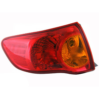 Toyota Corolla Tail Light 07-09 Sedan 4dr Left LHS Rear Tail Lamp ZRE152