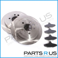 Ford AU Series 2/3 Falcon/Ute XR6/XR8 Rear Disc Brake Rotors/Pads Combo Set 00-2