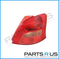Toyota Yaris 05-08 NCP90 Series 1 Hatchback Red & Clear RHS Right Tail Light