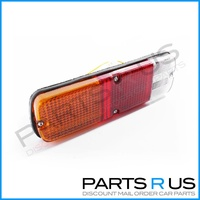 Universal Replacement Tray Back Ute Red Amber & Clear Tail Light Lamp LH or RH