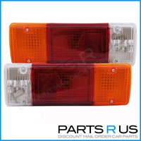 Toyota 70 75 78 Series Landcruiser Tray Ute Tail Lights Left & Right 85-99 Model