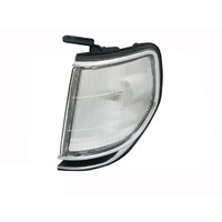 Toyota 80 Series Landcruiser LHS Chrome Corner Park Light Left 90-98 91 92 93 94