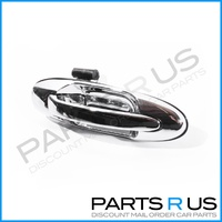 Toyota Landcruiser 100 Series 98-07 Rear RHS Right Outer Chrome Door Handle