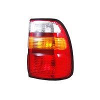 Toyota 100 Series Landcruiser 98-02 Red Amber & Clear RHS Right Tail Light